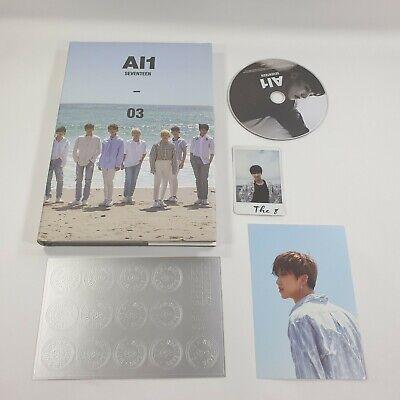 SEVENTEEN 4th Mini album AL1 CD Sticker The8 Photocard Postcard Opened Al1 ver.