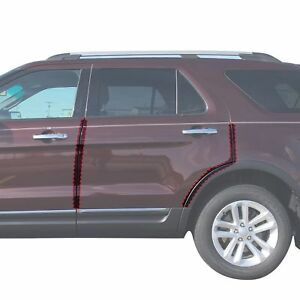 Fits Ford Explorer Pc Pre Cut Custom Fit Invisible Door Edge Guards
