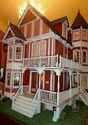 "Doll House House of Broel By Artist Bonnie Broel ""House of all Seasons"""