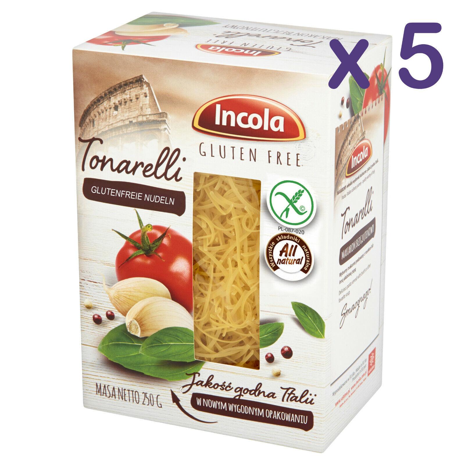 (11,92€/kg) GLUTENFREI Nudeln TONARELLI 1,25kg glutenfreie Pasta Weizenmehlfrei