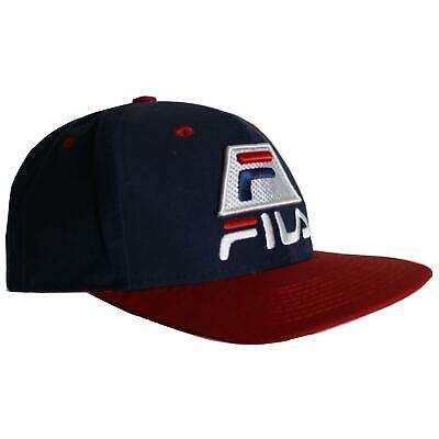 Fila Mens Cap Summer Running Navy Hat 12919592 0400