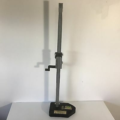 Helios Vernier Height Gage 0 - 26.5 X .001 Vh 221 Made In Germany