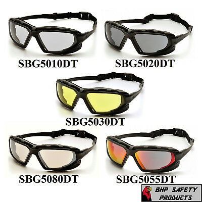 Pyramex Highlander Plus Safety Glasses Construction Work Sunglasses 1 Pair