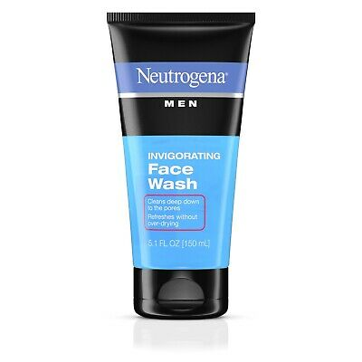 Neutrogena Men Invigorating Face Wash 5.1 Oz