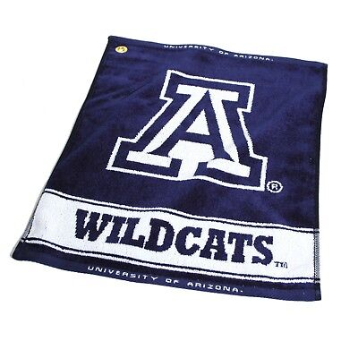 - Arizona Wildcats Golf Bag Towel - Woven Fabric Club Iron Woods Course