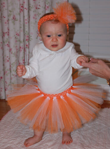Tennessee Vols tutus  newborn  to 5 yrs Or Adult to size 6