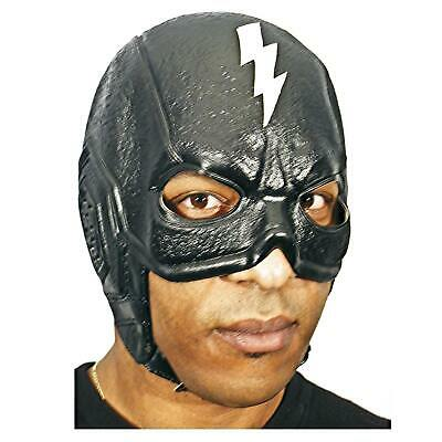 Adult Men's Superhero Super Hero Kick Ass Vigilante Costume Lightning Bolt Mask](Super Hero Adult Costume)