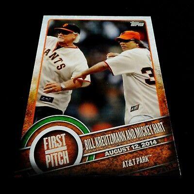 Grateful Dead Baseball Card Bill Kreutzmann Mickey Hart San Francisco Giants SF