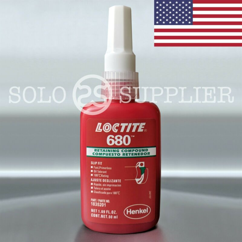 Loctite 680 Green High Strength Retaining Compound 50ml - USA