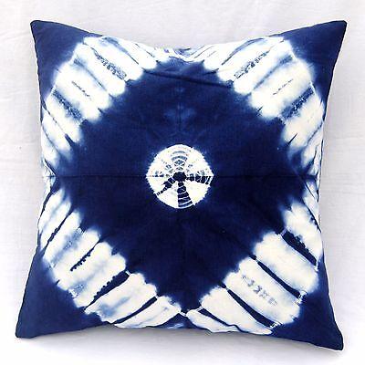 Подушка Cotton Shibori Cushion Cover Indian