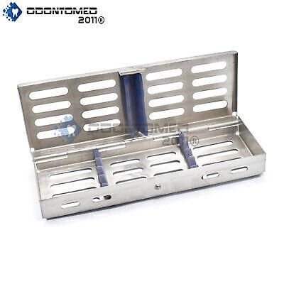 Sterilization Tray Sterile Dental Orthodontic Instruments Box Cassette 7 X 3.5
