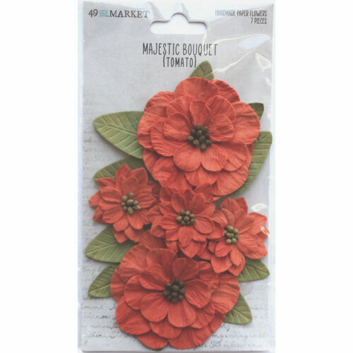 49 and Market MAJESTIC BOUQUET TOMATO 7 pieces #MB-34178