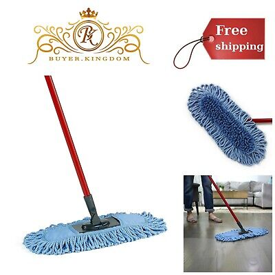 Microfiber Sweeper Dust Mop Dual Action Home Kitchen Floor Cleaner Cleaning Tool Floor Cleaning Sweeper Tool