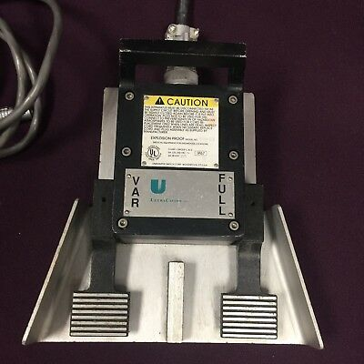 Ethicon Ultracision 606-ex Linemaster Dual Pedal Footswitch