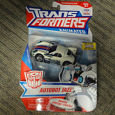 2008 Hasbro Transformers Animated Deluxe Class Elite Ninja Autobot Jazz