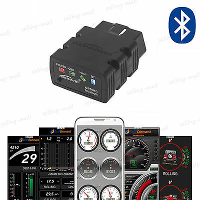New ELM327 Bluetooth OBD2 OBDII CAN V3.0 Scan Tool Android Car Reader Scanner