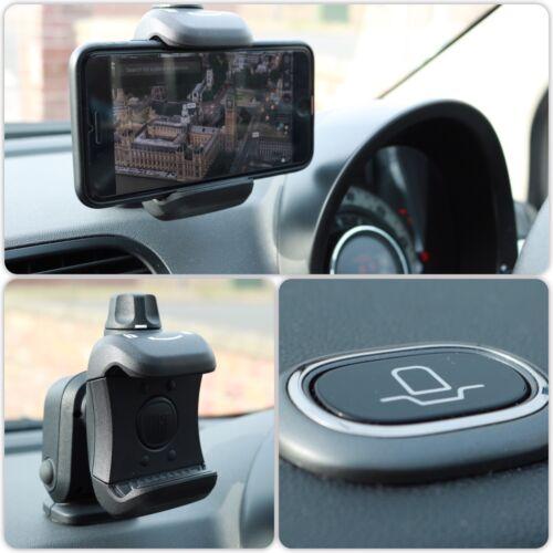 Fiat 500 Punto Panda Ducato Doblo Dashboard Phone Holder Cradle Genuin 735664419