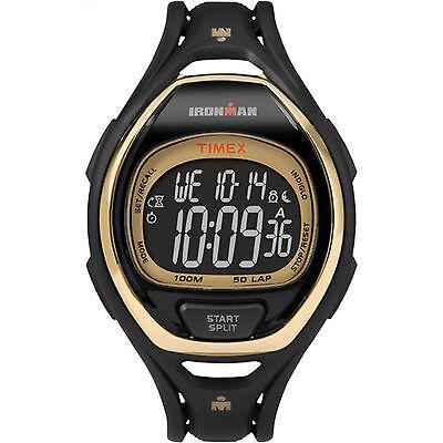 Timex Tw5m06000  Mens  Ironman  50 Lap Resin Watch  3 Alarms  Tw5m060009j