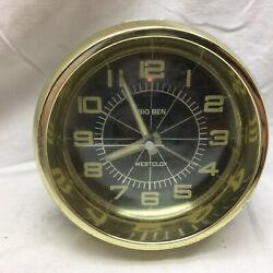 Vintage Big Ben Westclox Clock 10078 Windup Alarm Working c1960's LaSalle IL