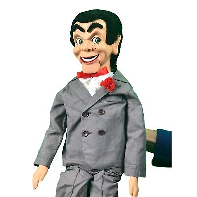 Slappy / Goosebumps Super Deluxe Upgrade Ventriloquist Dummy Moving Eyes & - Dummy Slappy