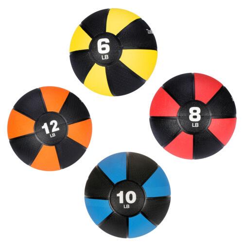 Weighted Grip Medicine Ball Body Balance Sport Equipment Yellow/Red/Orange/Blue Exercise Balls