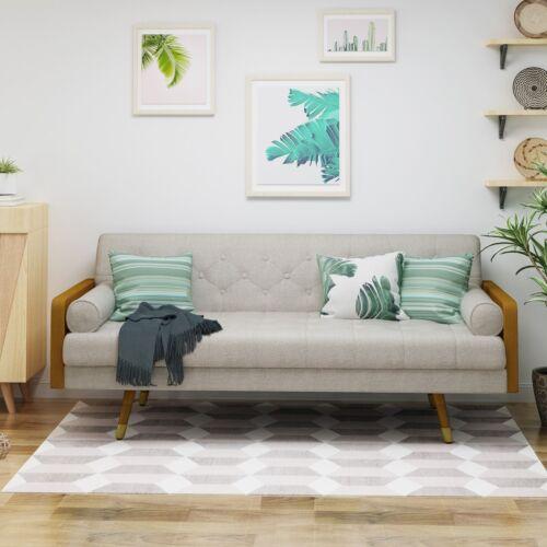 Aidan Mid Century Modern Tufted Fabric Sofa Chairs