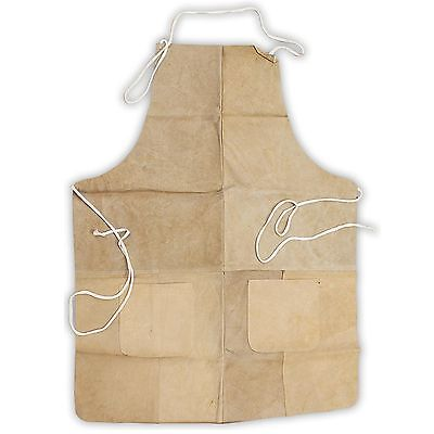 Hawk Al001az - Genuine Split Leather Welding - Grinding Apron - Shop J1-2