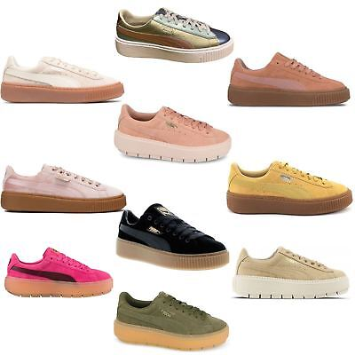 Puma Suede Platform Womens Trainers~RRP £80~Sizes UK 3 to 8