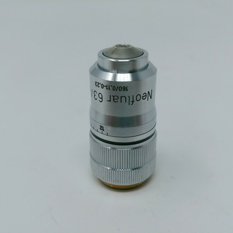 Zeiss Microscope Objective Neofluar 63x / 0.90 with Correction
