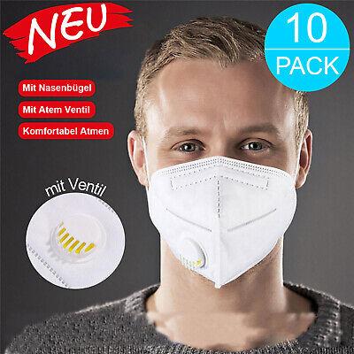 FFP3 FFP2 Atemschutzmaske mit Ventil Mundschutz ...