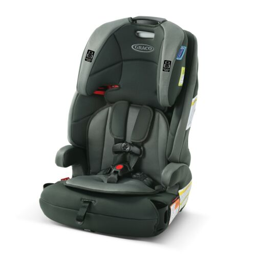 Graco Tranzitions 3-in-1 Harness Booster, Gray