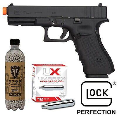 Elite Force Glock 17 Gen 4 Airsoft Pistol CO2 Blowback Gun Licensed G17 KWC -