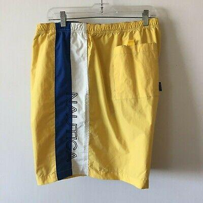 Nautica Swim Trunks Drawstring Lined Embroidered Men's 4XLT NWOT