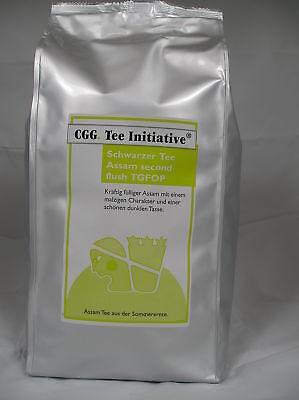 1kg Assam Second Flush Schwarzer Tee Initiative Tea Blatt - Flush