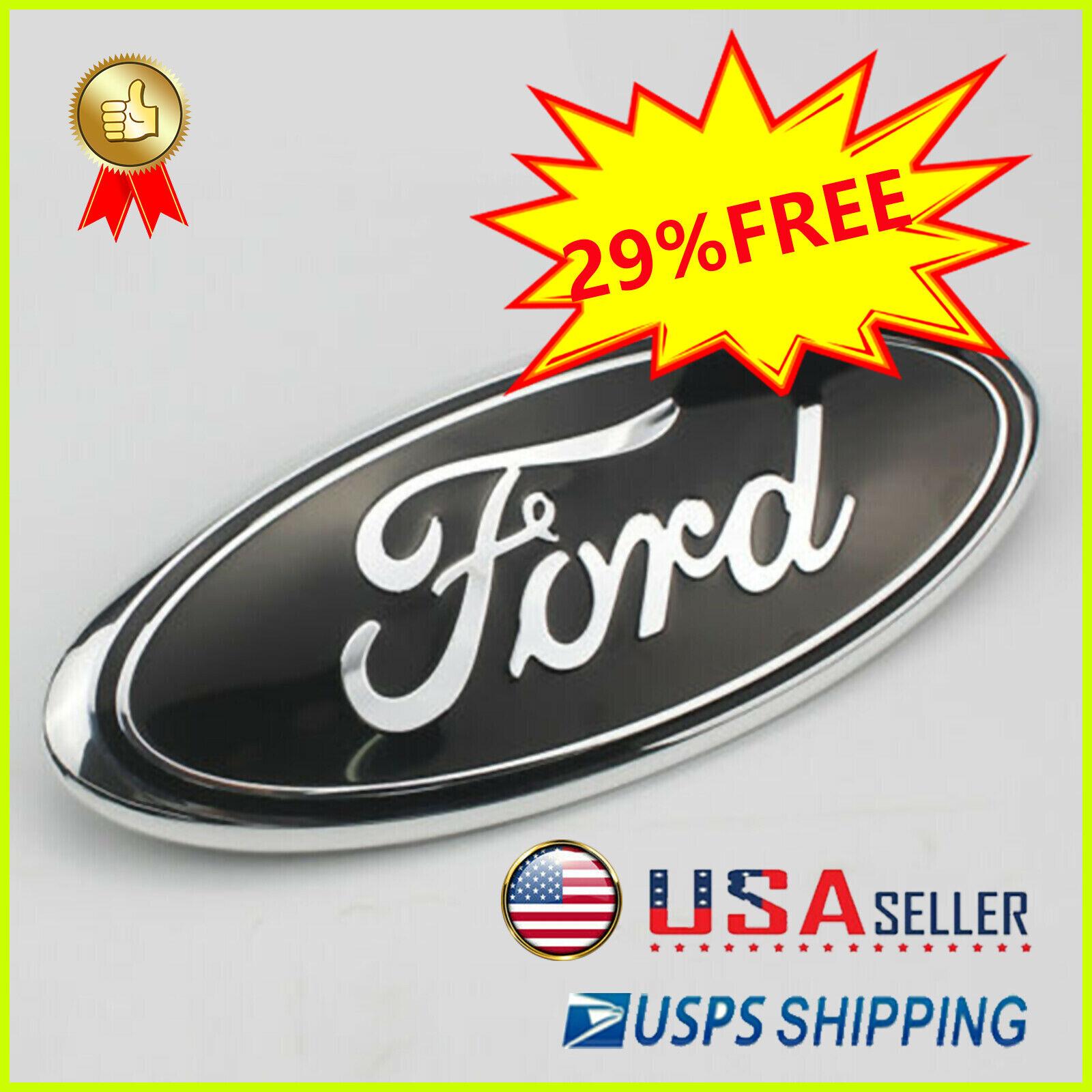 1Pcs 7/9 inch 2005-2014 Ford F150 F250 F350 Rear GRILLE/ TAILGATE Oval Emblem #5