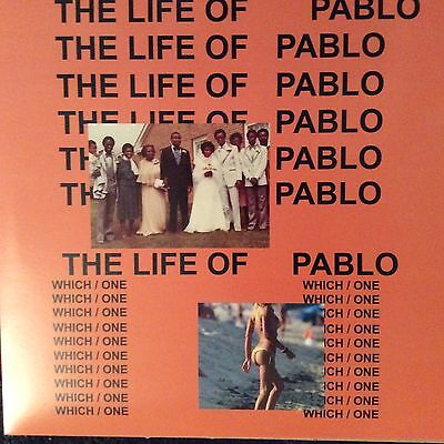 """KANYE WEST """" THE LIFE OF PABLO  """" NEW LP ** COLOURED VINYL ** RARE **"""