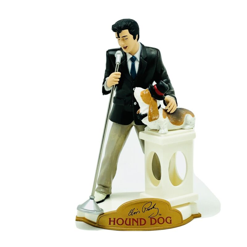 Elvis Presley Hound Dog Ornament Trevco 2004 new in box