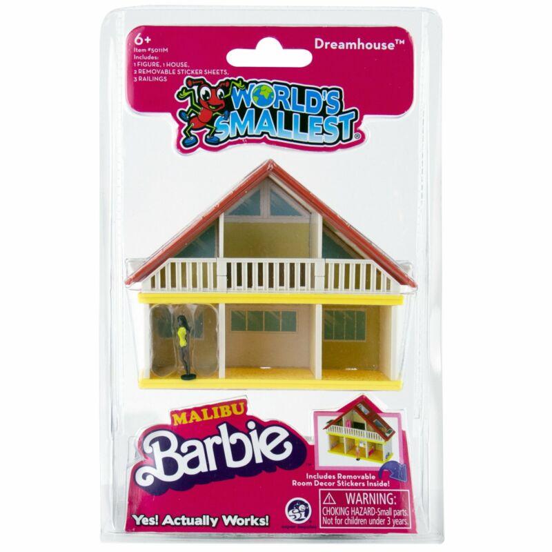 Malibu Barbie Mini Malibu Barbie Dreamhouse Tiny World