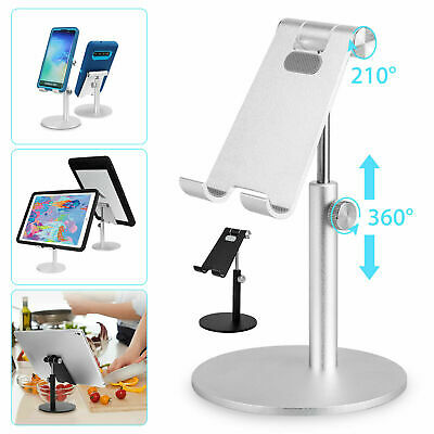 Portable Aluminum Desk Desktop Phone Stand Holder For iPhone Tablet Cellphone US
