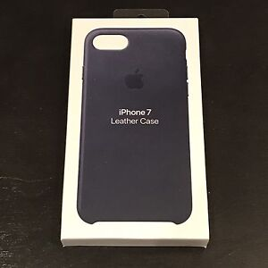 Apple Leather Case iPhone 7 Midnight Blue