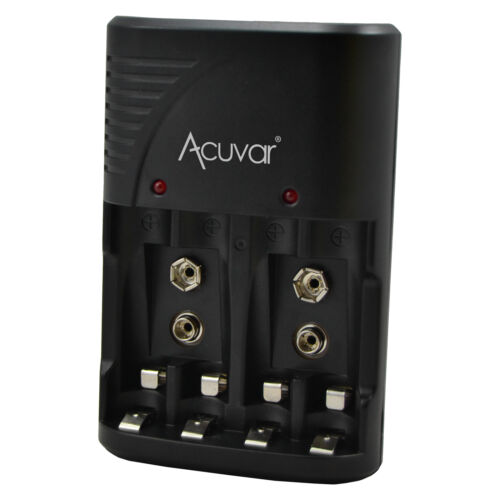 Acuvar 3 in 1 Battery Charger for Double AA, Triple AAA and