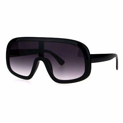Shield Goggle Style Sunglasses Futuristic Oversized Fashion Shades UV (Futuristic Goggles)