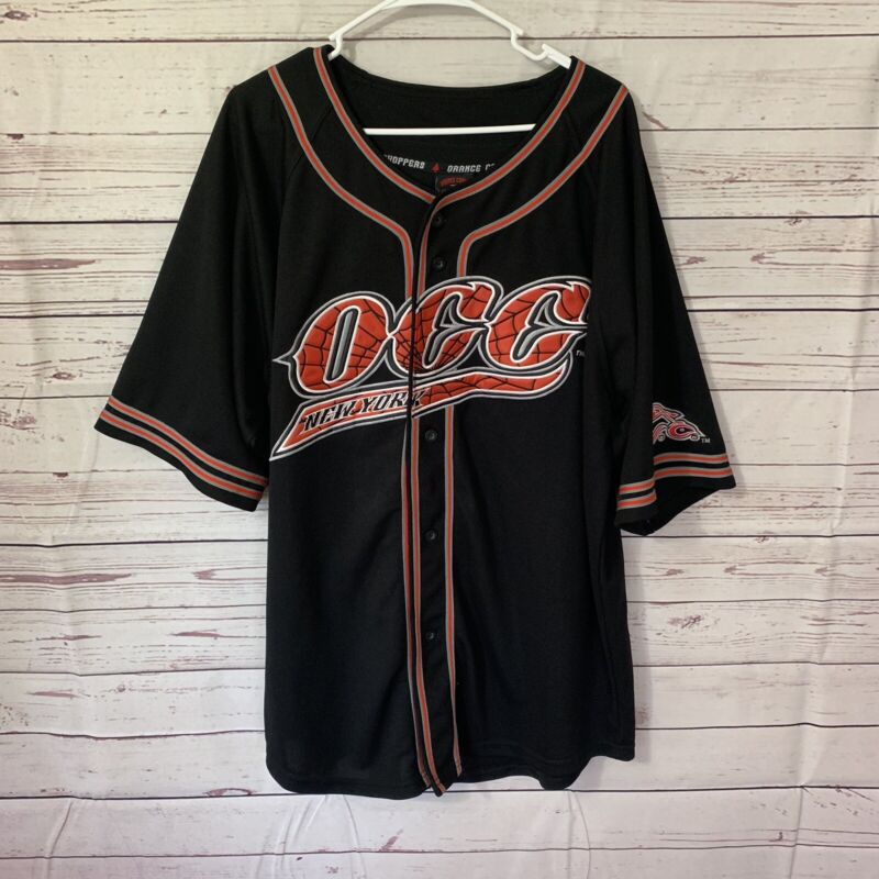 OCC Orange County Choppers Baseball Jersey Men