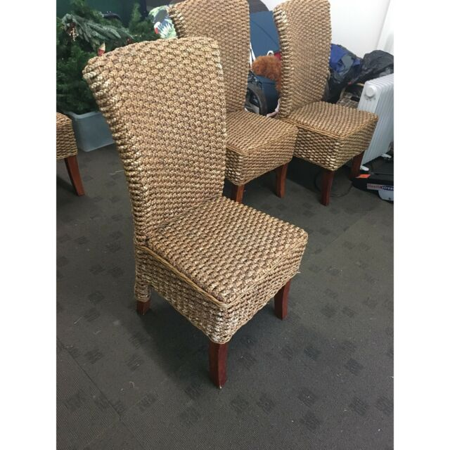 Wicker chairs - set of 8   Dining Chairs   Gumtree ...