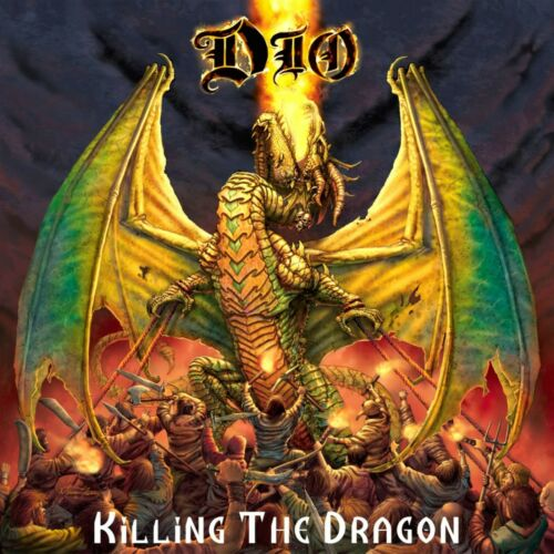 DIO Killing the Dragon BANNER HUGE 4X4 Ft Fabric Poster Tapestry Flag album art