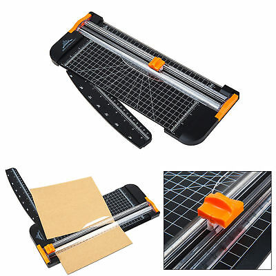 Manual Paper Cutter Blade Black Base Trimmer Scrap Booking A4 A5 Free Shipping