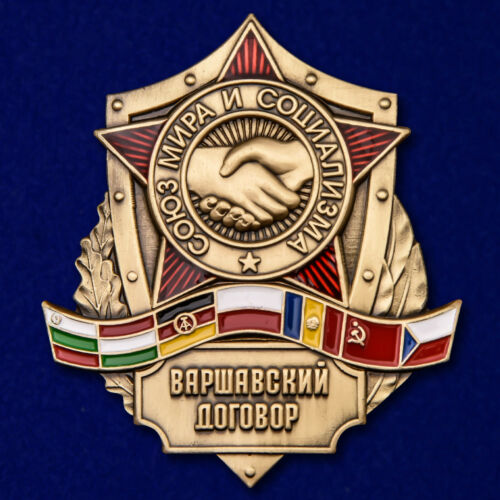 AWARD BADGE The Warsaw Pact POLAND forces AWARD ORDER MEDAL MEDALS PINS PIN ARMY