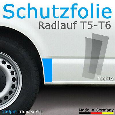 Steinschlagschutzfolie transparent Radlauf VW T5 / T6 (rechts)