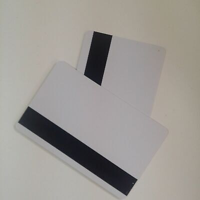 Mag Strip Inkjet Pvc Blank Id Cards Hico Matte Epson Canon Magnetic- 10pcs Lot