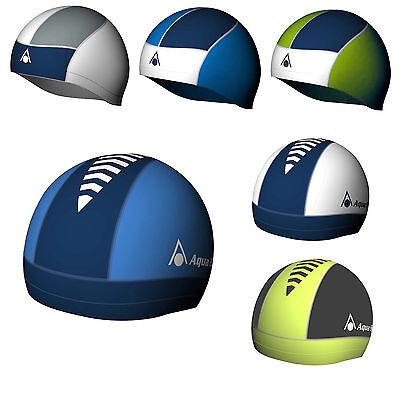 Aqua Sphere Swim Caps Skull Cap Hat Adult Unisex Swimming 100% UV Vita Fabric Aqua Sphere Swim Cap